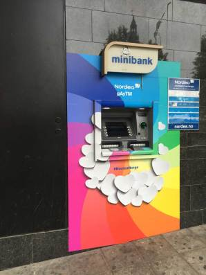 Even the ATM is gay, or as they call it gAyTM